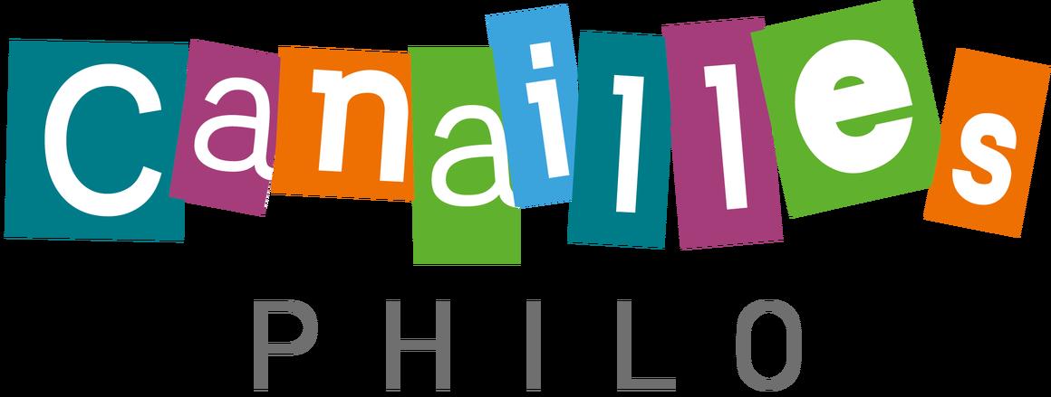 Logo de Canailles Philo, l'atelier de philosophie pour les jeunes